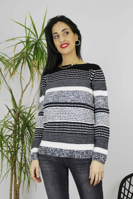 JERSEY MUJER GRIS